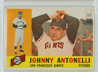 1960 Topps Baseball 80 Johnny Antonelli San Francisco Giants Excellent to Mint