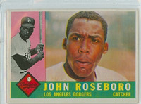 1960 Topps Baseball 88 John Roseboro Los Angeles Dodgers Excellent to Mint