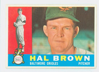 1960 Topps Baseball 89 Hal Brown Baltimore Orioles Excellent to Excellent Plus