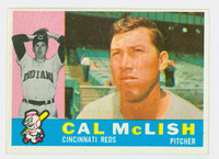 1960 Topps Baseball 110 Cal McLish Cincinnati Reds Excellent to Mint