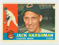 1960 Topps Baseball 112 Jack Harshman Cleveland Indians Excellent