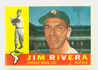 1960 Topps Baseball 116 Jim Rivera Chicago White Sox Excellent to Excellent Plus
