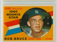 1960 Topps Baseball 118 Bob Bruce Detroit Tigers Excellent to Mint