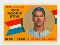 1960 Topps Baseball 121 Camillo Carreon Chicago White Sox Excellent to Mint
