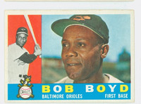 1960 Topps Baseball 207 Bob Boyd Baltimore Orioles Excellent to Excellent Plus