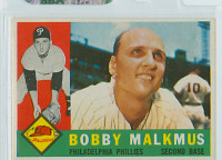 1960 Topps Baseball 251 Bobby Malkmus Philadelphia Phillies Excellent to Mint