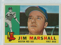 1960 Topps Baseball 267 Jim Marshall Boston Red Sox Excellent to Mint