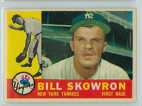 1960 Topps Baseball 370 Bill Skowron New York Yankees Very Good to Excellent