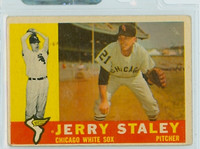 1960 Topps Baseball 510 Jerry Staley Chicago White Sox Very Good to Excellent