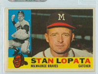 1960 Topps Baseball 515 Stan Lopata Milwaukee Braves Excellent to Excellent Plus