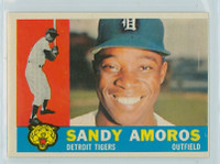 1960 Topps Baseball 531 Sandy Amoros High Number Detroit Tigers Excellent