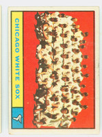 1961 Topps Baseball 7 White Sox Team Very Good to Excellent