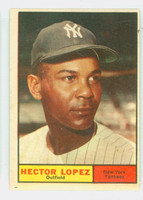 1961 Topps Baseball 28 Hector Lopez New York Yankees Very Good to Excellent