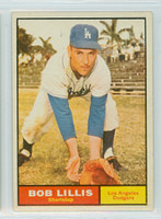 1961 Topps Baseball 38 Bob Lillis Los Angeles Dodgers Excellent to Mint