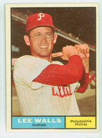 1961 Topps Baseball 78 Lee Walls Philadelphia Phillies Excellent to Excellent Plus
