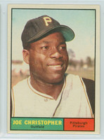 1961 Topps Baseball 82 Joe Christopher Pittsburgh Pirates Excellent to Mint