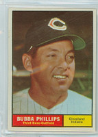 1961 Topps Baseball 101 Bubba Phillips Cleveland Indians Near-Mint