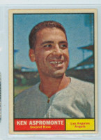 1961 Topps Baseball 176 Ken Aspromonte Los Angeles Angels Excellent to Mint