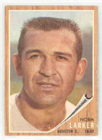 1962 Topps Baseball 23 Norm Larker Houston Colts Near-Mint