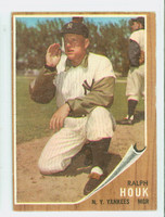 1962 Topps Baseball 88 Ralph Houk New York Yankees Very Good