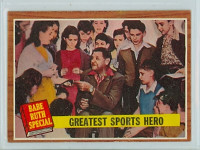 1962 Topps Baseball 143 Greatest Sports Hero Excellent