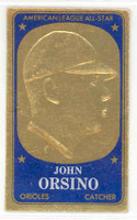 1965 Topps Embossed 51 John Orsino Washington Senators Excellent to Mint