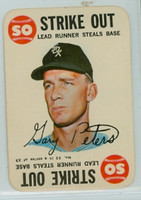 1968 Topps Game 13 Gary Peters Chicago White Sox Excellent