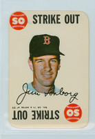 1968 Topps Game 14 Jim Lonborg Boston Red Sox Excellent