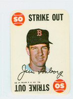 1968 Topps Game 14 Jim Lonborg Boston Red Sox Near-Mint Plus
