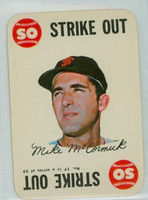 1968 Topps Game 17 Mike McCormick San Francisco Giants Near-Mint Plus
