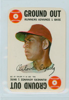 1968 Topps Game 32 Orlando Cepeda St. Louis Cardinals Excellent to Mint