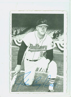1969 Topps Deckles 2 Boog Powell Baltimore Orioles Very Good to Excellent