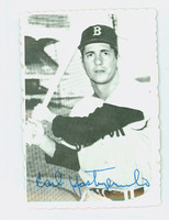 1969 Topps Deckles 4 Carl Yastrzemski Boston Red Sox Excellent to Mint