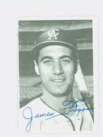 1969 Topps Deckles 5 Jim Fregosi California Angels Excellent