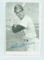 1969 Topps Deckles 6 Luis Aparicio Chicago White Sox Very Good to Excellent