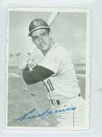 1969 Topps Deckles 6 Luis Aparicio Chicago White Sox Excellent