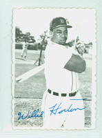 1969 Topps Deckles 9 Willie Horton Detroit Tigers Excellent to Mint