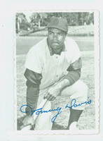 1969 Topps Deckles 15 Tommy Davis Seattle Pilots Excellent to Excellent Plus