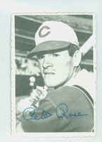 1969 Topps Deckles 21 Pete Rose Cincinnati Reds Excellent to Mint