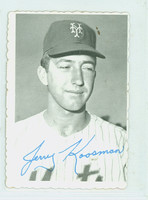 1969 Topps Deckles 25 Jerry Koosman New York Mets Excellent