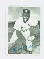 1969 Topps Deckles 29 Bob Gibson St. Louis Cardinals Very Good to Excellent