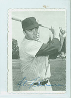 1969 Topps Deckles 30 Al Ferrara San Diego Padres Very Good to Excellent
