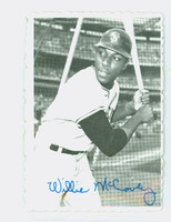 1969 Topps Deckles 31 Willie McCovey San Francisco Giants Very Good to Excellent