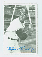 1969 Topps Deckles 31 Willie McCovey San Francisco Giants Excellent to Mint