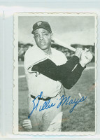 1969 Topps Deckles 33 Willie Mays San Francisco Giants Excellent