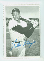 1969 Topps Deckles 33 Willie Mays San Francisco Giants Excellent to Excellent Plus
