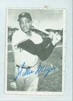 1969 Topps Deckles 33 Willie Mays San Francisco Giants Excellent to Mint