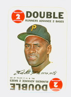 1968 Topps Game 6 Roberto Clemente Pittsburgh Pirates Near-Mint