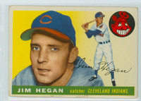 1955 Topps Baseball 7 Jim Hegan Cleveland Indians Very Good