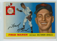 1955 Topps Baseball 13 Fred Marsh Baltimore Orioles Very Good to Excellent